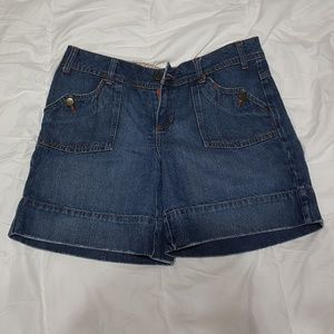 """SO """"so real.. so right"""" Jean Shorts Size 15"""